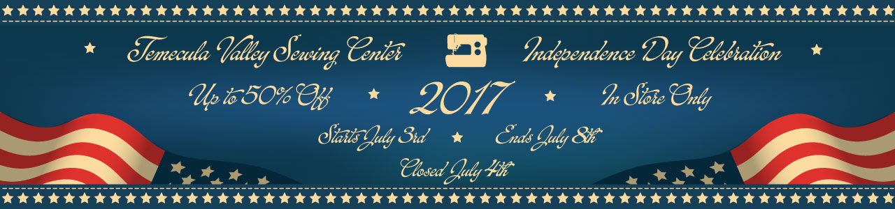 Independence Day Celebration July 3, 2017 through July 4, 2017